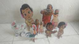 Kit Display Festa Infantil Moana Baby