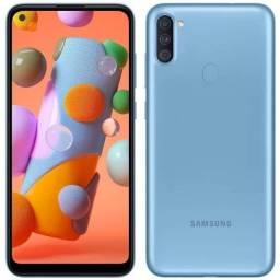 Samsung Galaxy A11 NOVO LACRADO!