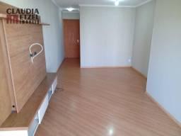 Apartamento 02 Dormitórios 67m2 útil Andar Alto c/Sacada - Rico em Armários - 02 WC's!! R