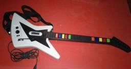 Guitarra Guitar Hero Ps3 + Brinde Jogo Aerosmith - Oportunidade