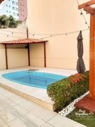 Ponta Negra Village, com 4 suítes + piscina, CD FECHADO, ao lado do Shopping Ponta Negra
