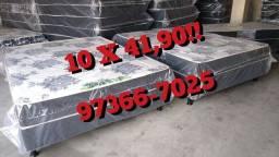 Cama Box Casal 10 X $41,90!! Entrega Grátis!!!