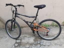 Bicicleta Caloi com amortecedor / Aceito Cartão