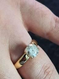 Anel Ouro é Diamante