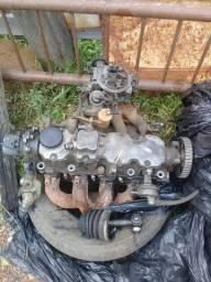 Cabeçote monza 89 carburador e comando