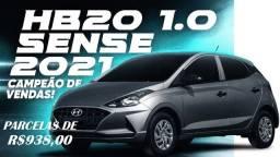 HB20 Sense 0km Pronta Entrega-Diversas cores