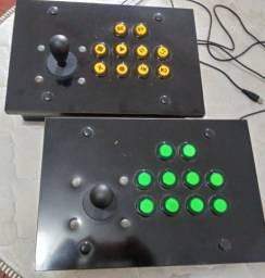 Controles de entrada USB Arcade