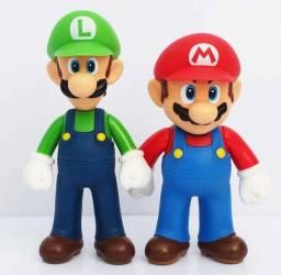 Bonecos Super Mario & Luigi 13cm novo!