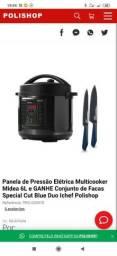 Panela de Pressão Elétrica Multicooker Midea 6L Polishop
