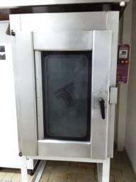 forno elétrico e modeladora padaria