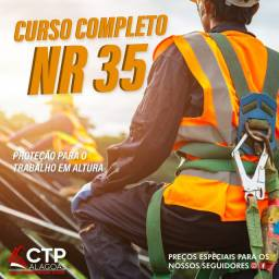 .*.*CURSO: NR 35 (PROTEÇÃO PARA O TRABALHO EM ALTURA)*.*.