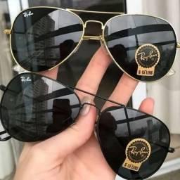 Óculos de Sol Aviador Rayban - Lente UV400 - Promoção