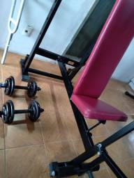 Aparelho musculação 50kg