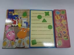 Livro interativo sonoro Backyardigans - R$ 25,00