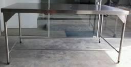 Mesa Profissional Inox304 Linha Pesada - Fabricante Ideal Inox