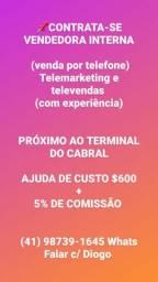 CONTRATA-SE  telemarketing