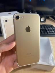 iPhone 7 128gb Dourado Igual Novo! Gabshop