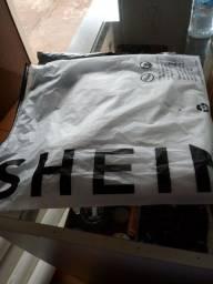 Calça jeans branca da SHEIN