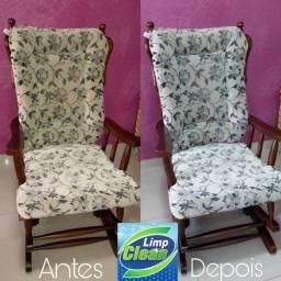 Higienização e Limpeza Profunda nas Cadeiras
