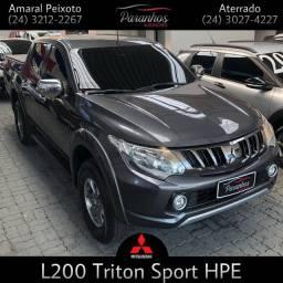 L200 TRITON 2019/2019 2.4 16V TURBO DIESEL SPORT HPE CD 4P 4X4 AUTOMÁTICO
