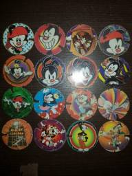 Kit Tazos Arma e Voa Animaniacs