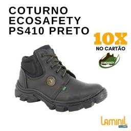 Coturno Ecosafety PS410 Preto