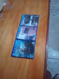 Vende-se 3 jogos de PS4