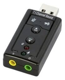 Adaptador Para Placa de Som - PC - Informatica