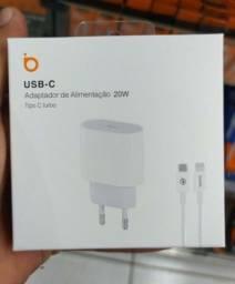 Carregador USB C pra iPhone originais basike