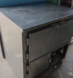 Refrigerador industrial 3 portas