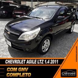 Chevrolet Agile LTZ 1.4 2011 com GNV