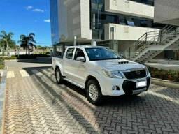 Toyota Hilux 3.0 SRV Turbo Branco 2015