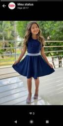 Vestidos moda kids e juvenil ? estilo e elegância para sua princesa ? sob encomenda