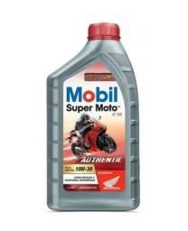 Óleo Mobil Super Moto MX 10w30 Semi Sintético 1 Litro