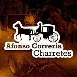 Afonso correria capas e banco de charrete