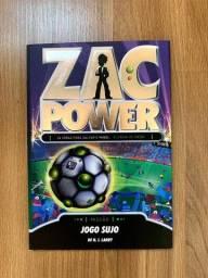 Livro Zac Power: Jogo Sujo