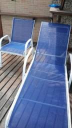 Restaurações em mobiliário de piscina de alumínio