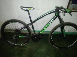 Bicicleta GTSM1, freios a disco hidráulico