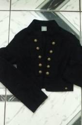 Jaqueta marca Hering adulta feminina estilo Militar