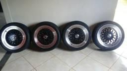 Rodas 17 BBS SCORO R$2.000,00 Orizânia