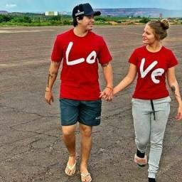 Lindas camisas LOVE ME. para vocé e sua familia