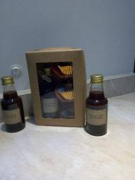 Licor de cataia - 3 copinhos de chocolate