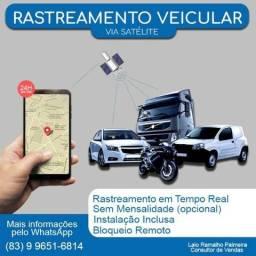Rastreador GPS para carro moto e caminhão