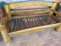 Lindo Sofá de madeira maciça