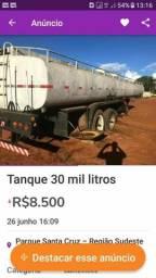 Tanque de gasolina 30 mil litros