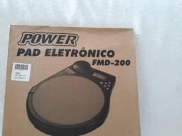 Power pad eletrônico fmd-200 para estudo de bateria