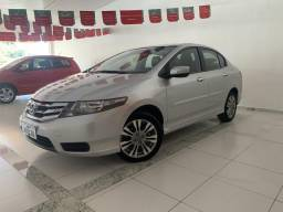 Honda City 2013 Ex Automático + Couro - ( 68.000 km ) Impecável - Topamos Negociar - 2012