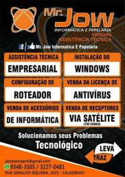 Serviços de informática em Geral, Redes Internet e Firewall