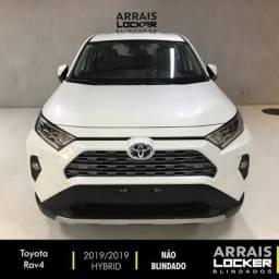Toyota rav4 2019/2019 2.5 vvt-ie hybrid s awd cvt blindado - 2019