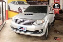 Toyota Hilux SW4 SRV D4D 3.0 Prata - 2012